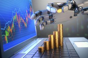 Robo advisor managing a portfolio.