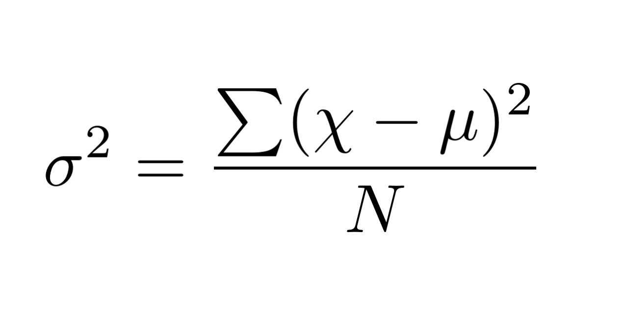 what does variance mean statistics