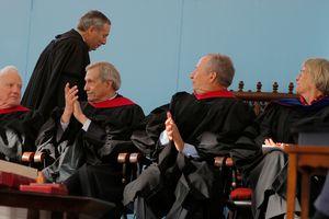 Harvard presidents, including former President Drew Faust