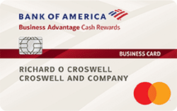 Business Advantage Cash Rewards Mastercard® credit card