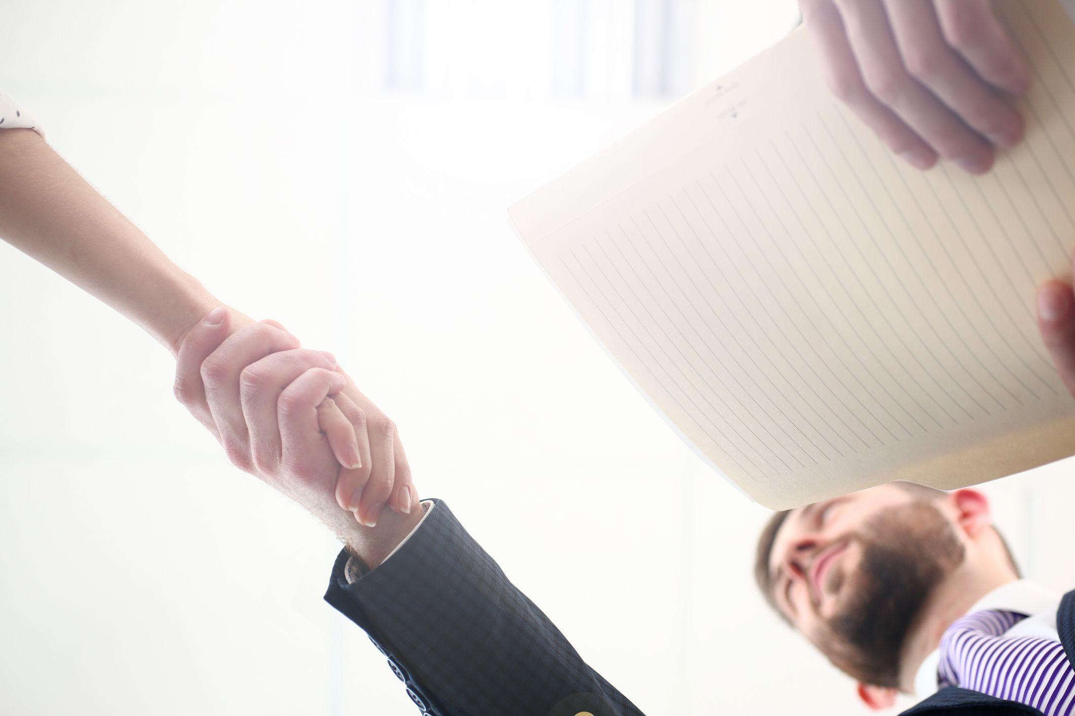 Golden Handshake Definition