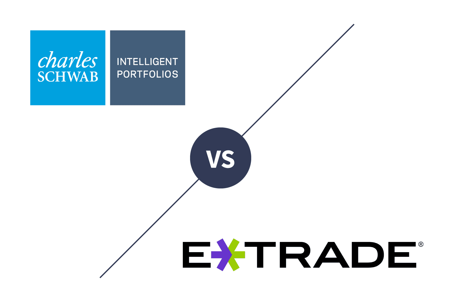 Charles Schwab Intelligent Portfolios vs. E*TRADE Core Portfolios