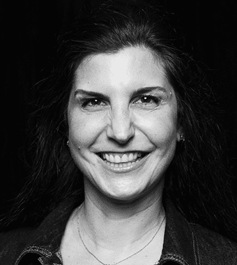 Jen Brown Black and White Headshot