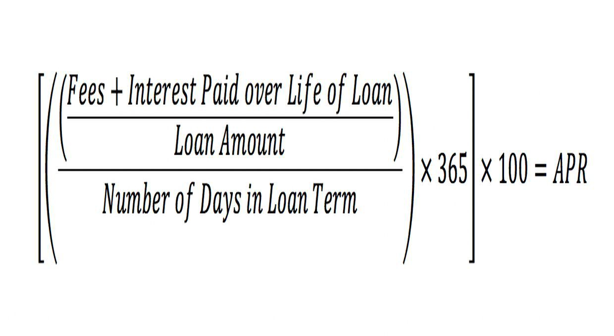 Annual Percentage Rate Apr Definition