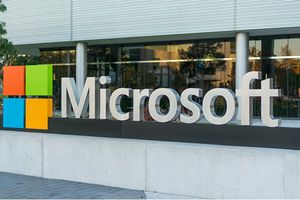 Image of Microsoft sign