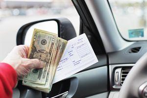 Five Hundred Dollar Drive Through Bank Deposit
