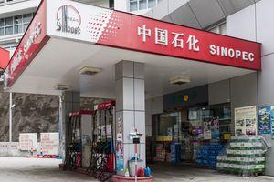 A China Petroleum & Chemical Corp. (Sinopec) gas station