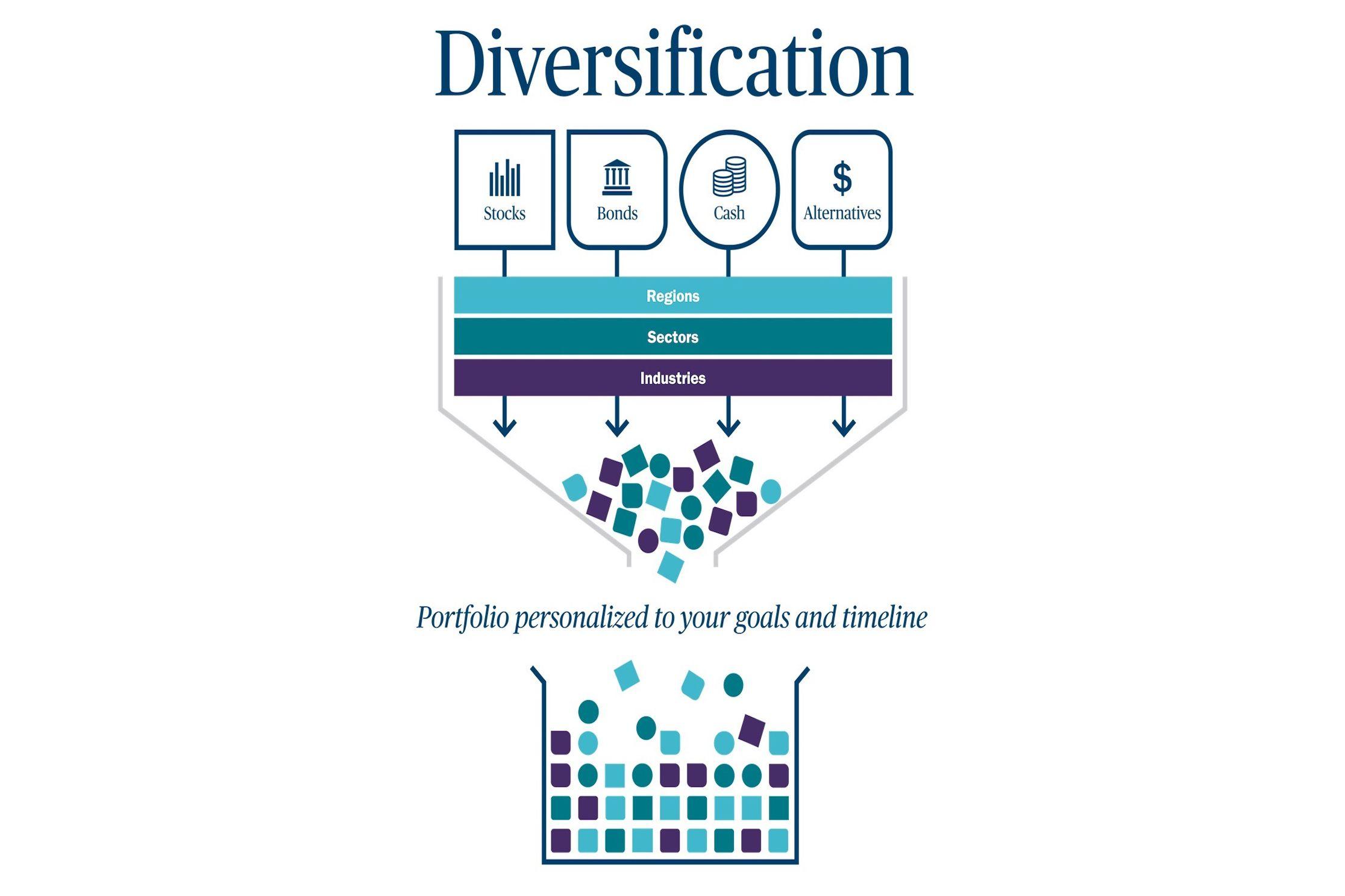 Diversification Infographic