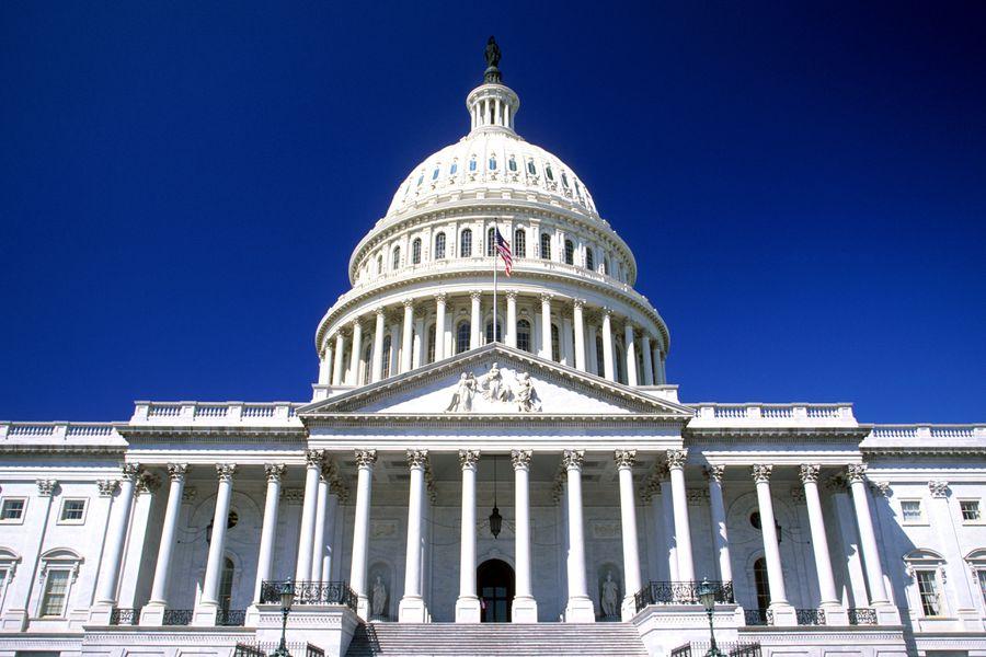 The U.S. Capitol Building, where Congress meets