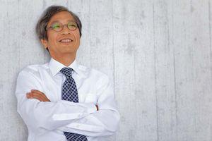 Older businessman in a tie