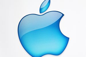 The apple computers logo
