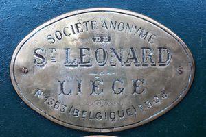 Société Anonyme de St Leonard, Liege No1363 1904, 93 Province de Limbourg
