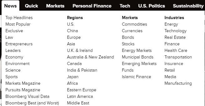 Top Financial and Stock Market News Sites
