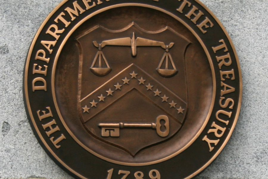 Dept of theTreasury Seal