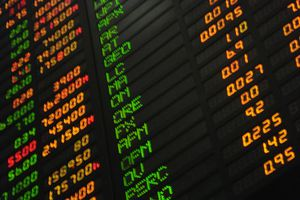 Phillipine Stock Market board