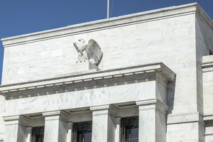 Architectural Detail on the U.S. Federal Reserve Building