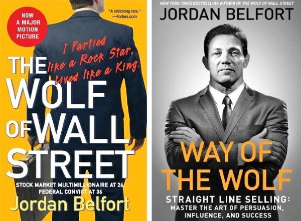 Books written by Jordan Belfort after his time in prison including The Wolf of Wall Street.