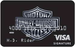 U.S. Bank Harley-Davidson® Visa® Secured card