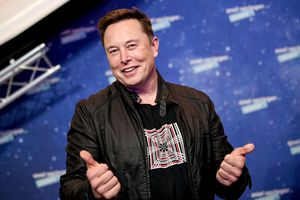 Elon Musk Awarded with Axel Springer Award in Berlin.