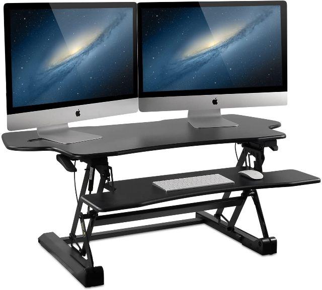 Mount-It! Height Adjustable Standing Desk