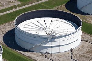 Cushing Storage Hub Oil Tank