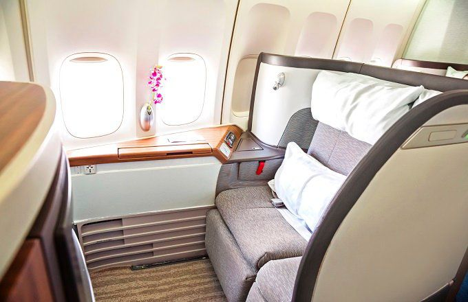 First Class Airline Tickets