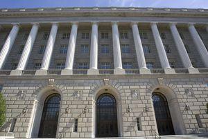 The US Internal Revenue Service building
