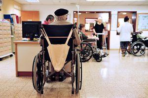 Nursing home scene