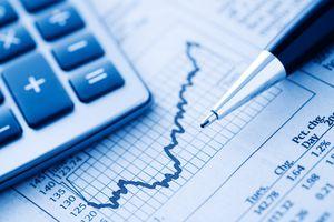A hand drawn mutual fund graph