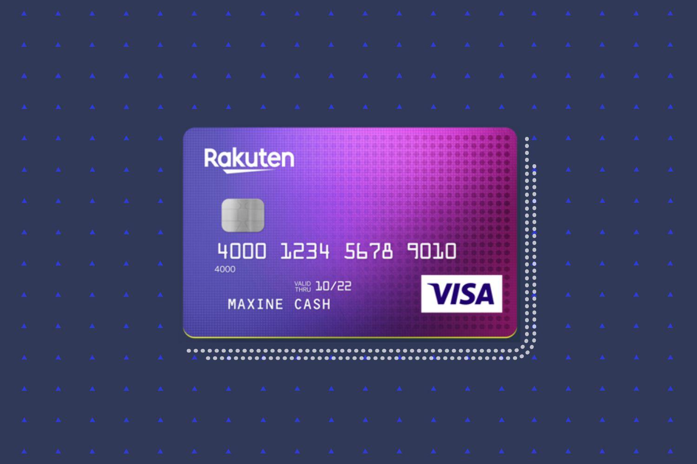 Rakuten Cash Back Visa Signature Credit Card Review