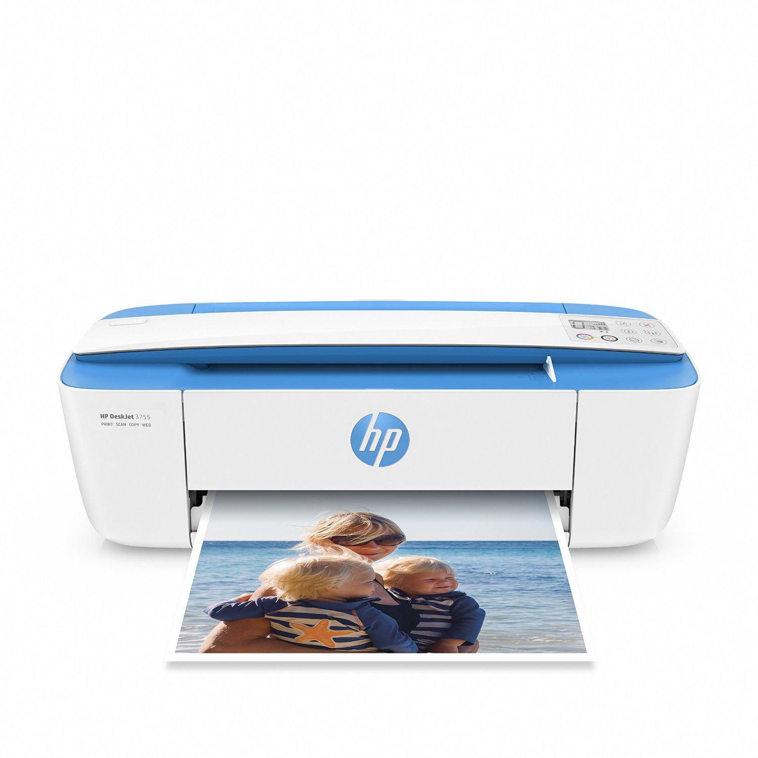 HP DeskJet 3755 Compact All-in-One Photo Printer