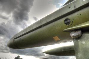 Image of Raytheon aerospace component