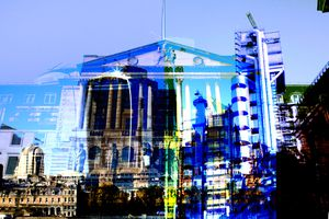 Abstracted City of London Buildings.