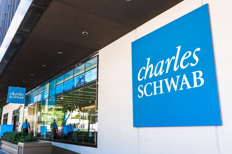Charles Schwab office building in SOMA district