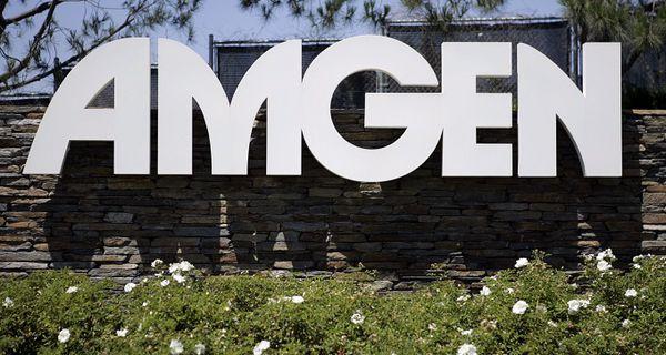 Image of Amgen sign