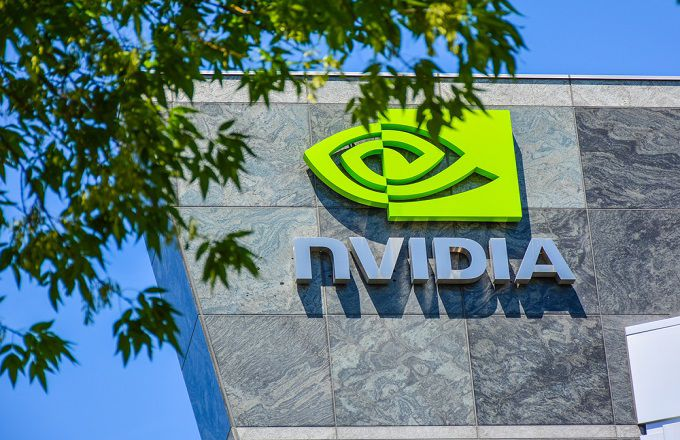 NVIDIA Sets New High, Closes Below Semiannual Pivot
