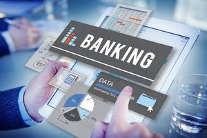 Image representing banking and financial technology
