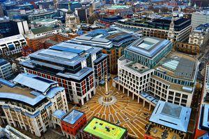 London Stock Exchange Paternoster square.