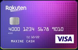 Rakuten Cash Back Visa® Signature Credit Card