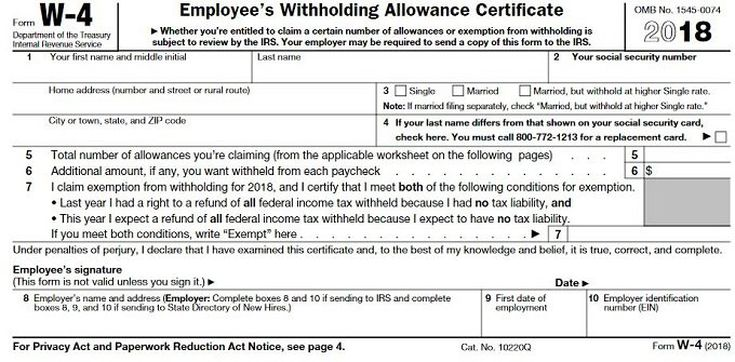 w2 form number of allowances  How to Fill Out a W-13 Form