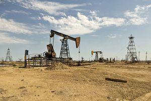 Azerbaijan, Baku, Oil Fields