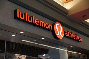 Image of Lululemon store