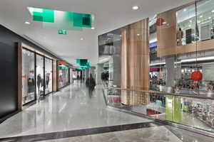 Shopping Mall interior in Istanbul