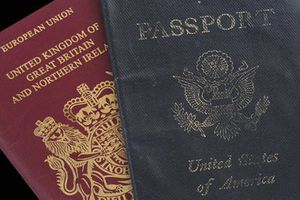 Passports for the United Kingdom and United States