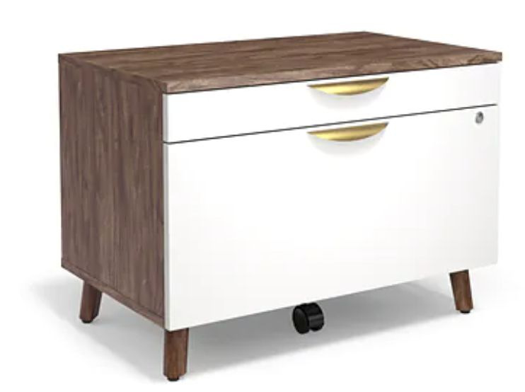 Union & Scale MidMod Two-Drawer Lateral File Cabinet