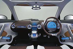 electric car - Mitsubishi iMiEV Sport - plug in electric car