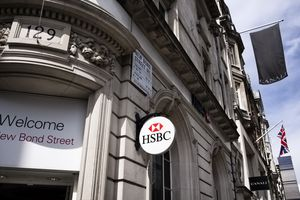 HSBC branch in New Bond Street, London