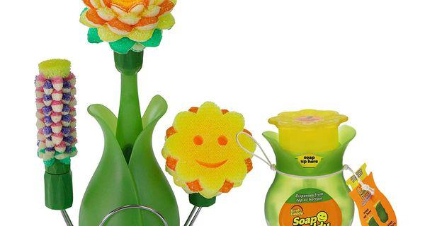 Scrub Daddy Scrub Daisy Full Kit & Soap Daddy Bundle 1 ea