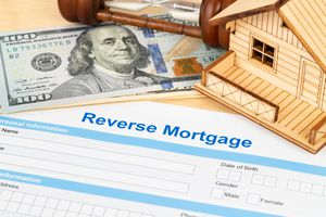 Reverse mortgage application form