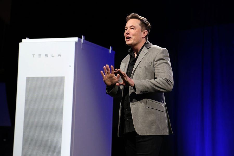 Elon Musk/Getty Images